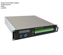 Yantai FTTH CATV 1550nm fiber optical amplifiers with multi-output port
