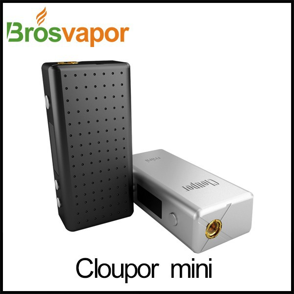 2015 china manufacturer wholesale vaporizer electronic cigarette mini mod 30W VV/VW Mode Box Mod cloupor mini dna 30 box mod