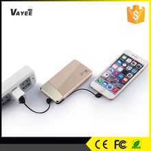 For iPhone, Samsung, iPad Universal Lithium Polymer 8000mah power bank phone
