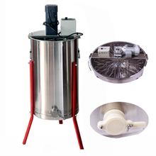 stainless steel 2,3,4,6,8,12,16,20 frames reversible electric motor radial honey centrifuge extractor cheap price for sale