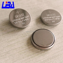 Button cell CR1632 lime battery Japan standard battery