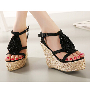 C62614A 2014 summer newest models sexy with waterproof sandals for women