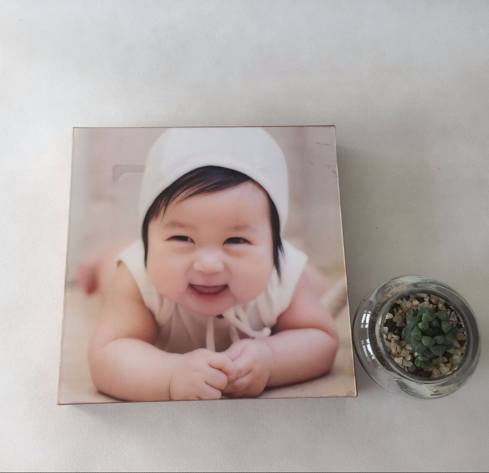 newborn baby PS Tabletop Photo Frame for Decoration