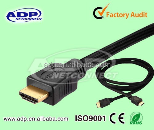 Flat Cable Version1.4 cable hdmi for ps4