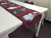 Manufacture christmas silicone placemats and coasters