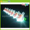 giant led inflatable flower chain for wedding stage decoration with flowers