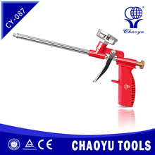 Pu foam gun for professinal or domestic use Plastic construction Hand Tools cheap good selling CY-087