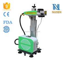 Mini portable LCD Touching screen Fiber Laser Marking Machine Laser Printing Machine