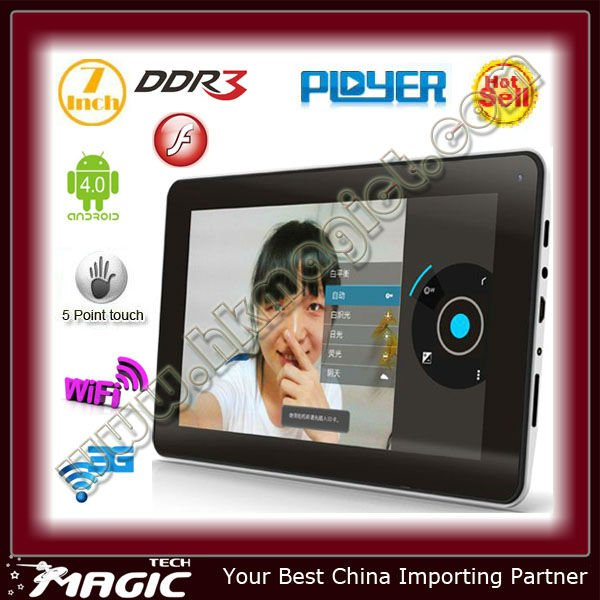 Andorid 4,0 tablet pc very cheap price in china