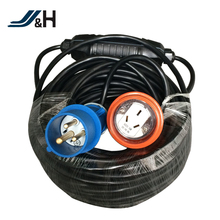 outdoor use waterproof RCD Extension Cord with plug and socket