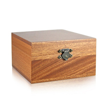 Customize sapele wood box high quality gift boxes, natural real wood box