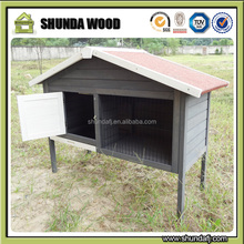 SDR021 Large Outdoor Rabbit Hutch Pet Guinea Pig Wooden House Small Animal Cage Kennel