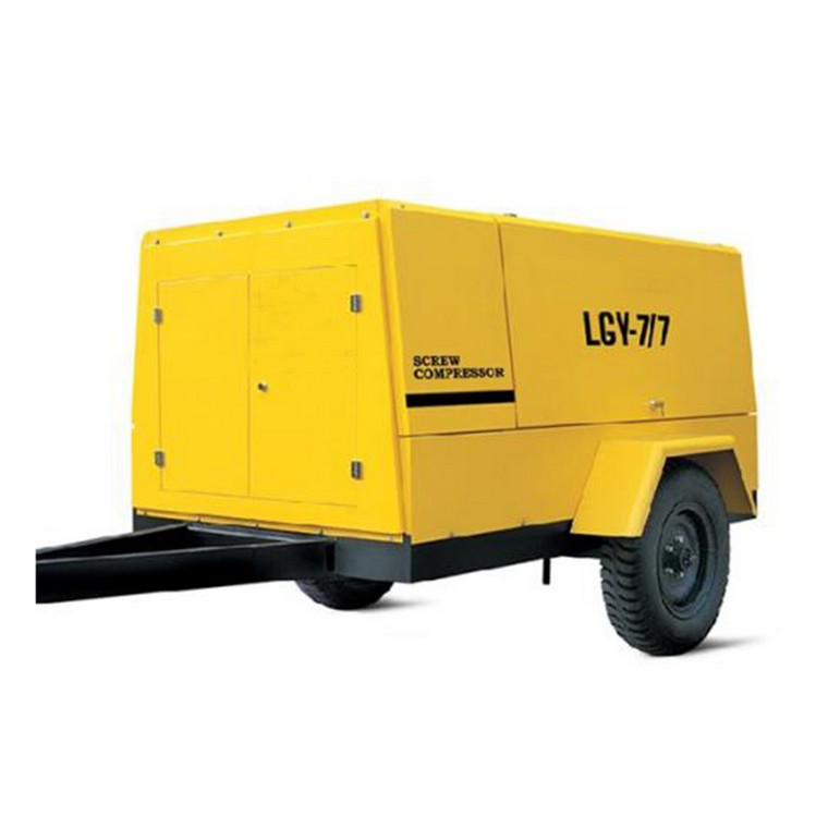 Direct Sale LG-4.5/6 General Industrial Portable Diesel Power Air Compressor