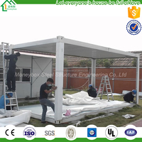 import items Container house prefabricated temporary home for European refugees