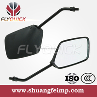ZF001-84 FLYQUICK Universal aftermarket scooter plastic motorcycle rear view mirror side mirror plastic mirror for suzuki AX100
