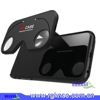 High quality new style figment vr mobile phone vr case, phone case with vr viewer