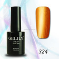 30 colours high quality shiny/glitter powder/metallic gel polish