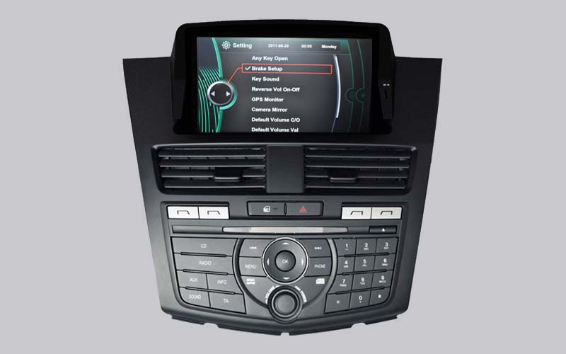 MAZDA BT50 CAR DVD GPS NAVIGATION with DVD BLUETOOTH RADIO