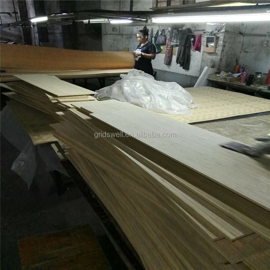 Supply 8mm thickness bamboo veneer sheet for skateboard