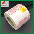 67mmx50mm Safe Handling Supermarket Special Printed Thermal Label for Torrey LSQ-40L Scale