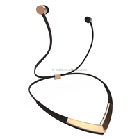 2016 New design V4.1 Best Music Bluetooth Headset with Magnetic