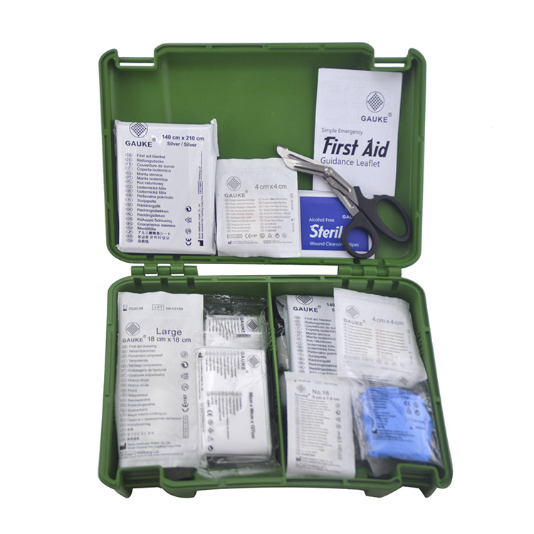 BSI8599 Emergency Care Kit , Individually Wrapped First Aid Box For Office& home