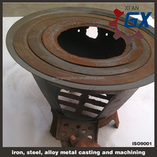 parts for wood fireboxs cast iron