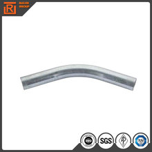 Galvanized IMC conduit tube 3 m long 90d elbow used for street lamp pipe price