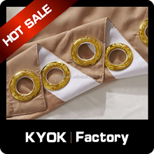 KYOK high end curtain fancy window curtain ,window curtains for christmas