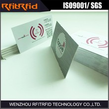 13.56mhz Printing Data Writing rfid smart card