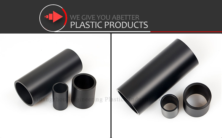 manufacturer price rounded customized nylon plastic tube abs tube
