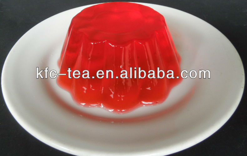 Strawberry flavors jelly powder