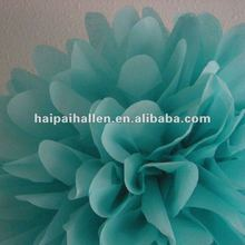 "Aqua Wedding Party Home Decor Tissue Paper Pom Poms 6""/8""/10""/14"" wedding decoration"