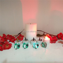 LED flicker flame light bulb for making colour changing candles
