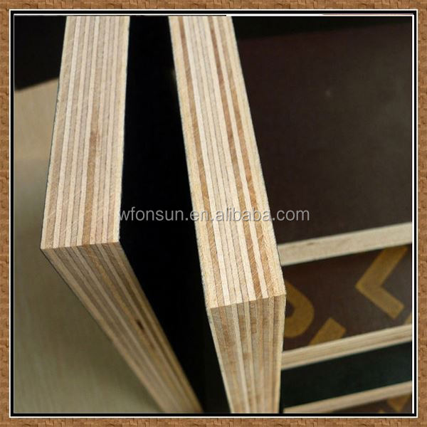 cheap stable quality wbp glue non slip film faced plywood antislip plywood in sale