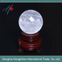 natural clear crystal ball,rock crystal ball/sphere
