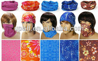 seamless multifunctional headwear ,Multifunctional Bandana/ Magic Headwear: