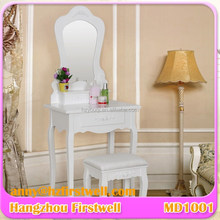 Modern Wooden White Vanity Makeup Dressing Table Modern Iron Dressing Table Italian Furniture