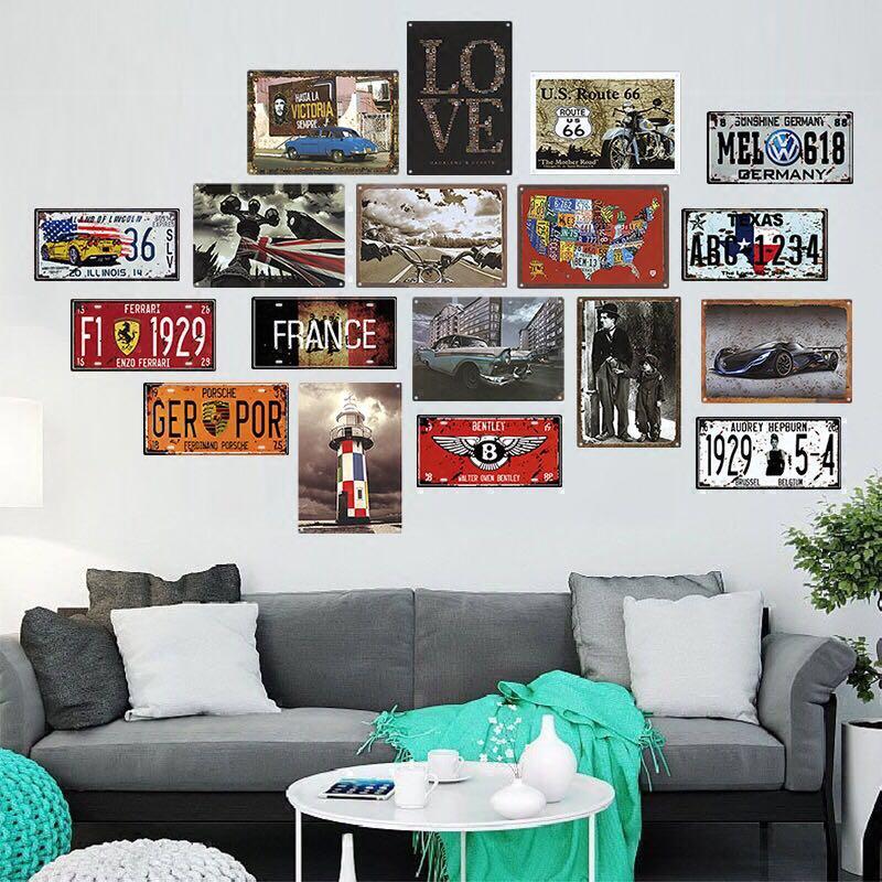 US SELLER Beatles metal tin sign interior home decoration