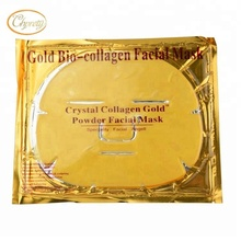 Best selling Hyaluronic Acid nourishing gold collagen crystal facial mask