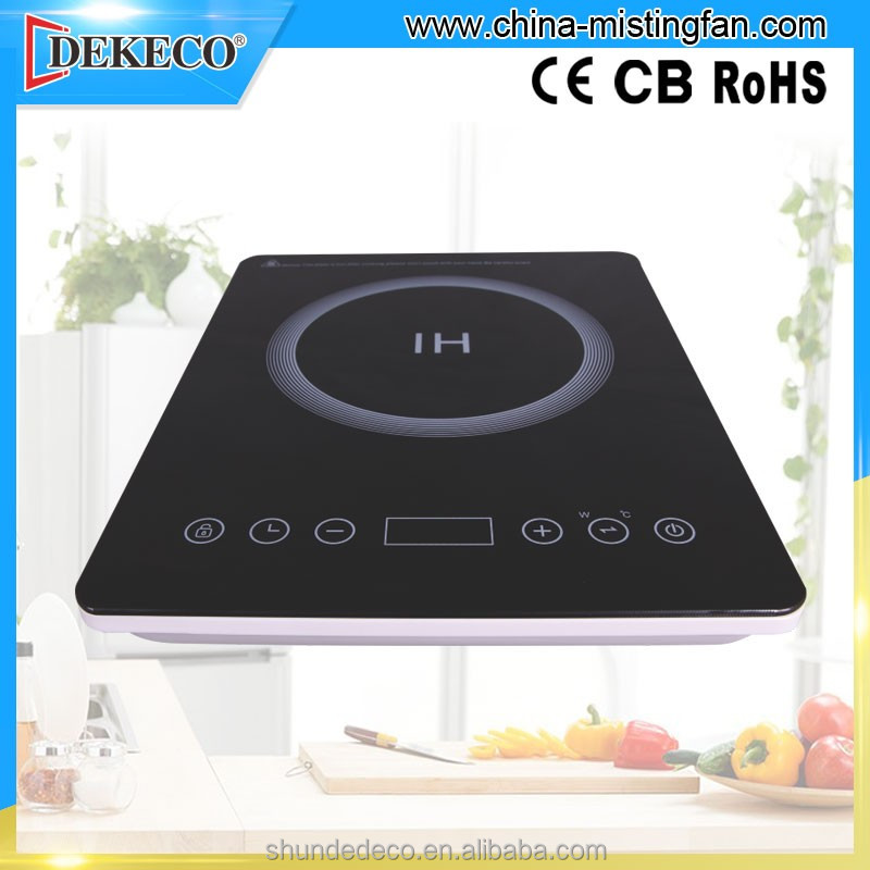 ultra Slim Portable electric induction cooker for kitchen use with spare parts