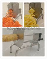 Advanced Three-operating Stainless steel torando potato cutter/spiral potato cutter/ribbon potato cutter 0086-18703616536