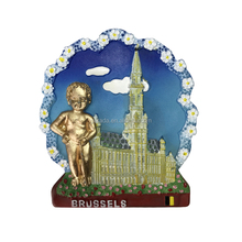 Polyresin Tourist Souvenir Fridge Magnet