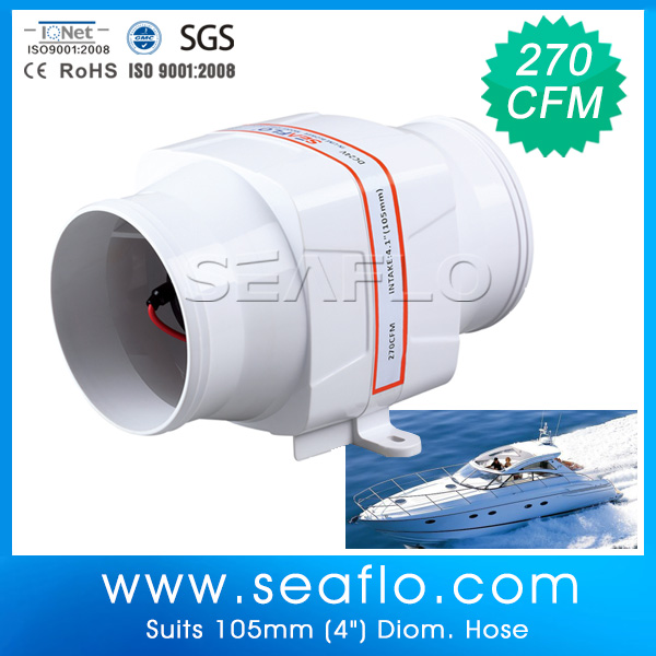 Dc Blower Product : V dc blower fan seaflo in line duct buy