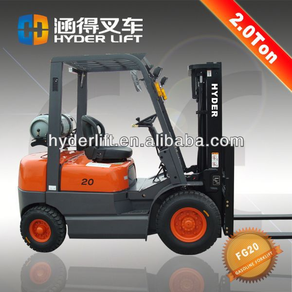 Hot sale 2ton bt forklift truck
