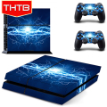 Bright Bolts Vinyl Decal Skin Sticker Material For Playstation PS 4