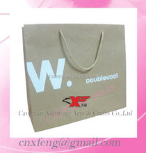 2015 New style T-shirt Carrying Brown Kraft paper bag