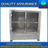 China manufacture pet stainless steel dog cage