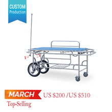 FJ-119 CE ISO medical clinic stainless steel stretcher