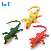 Vivid plastic imitate crocodile toys for the halloween